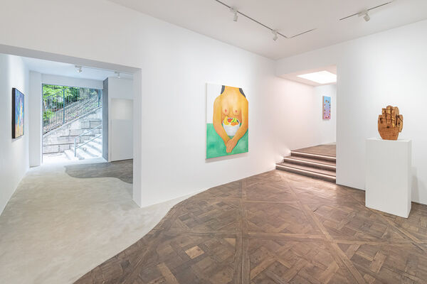 Over the Influence at Art Central 2020, installation view
