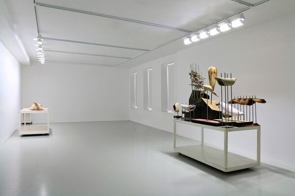 Pavel Brat. EVCFE / ...And the Word was made flesh, installation view