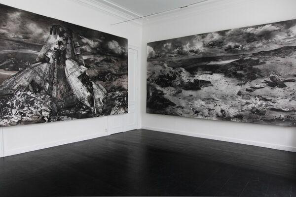 Annie Gentils at Art Rotterdam 2016, installation view