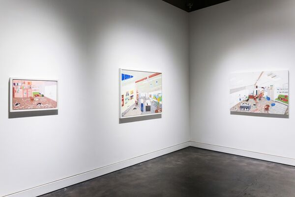 Sarah McEneaney: When You Wish, installation view