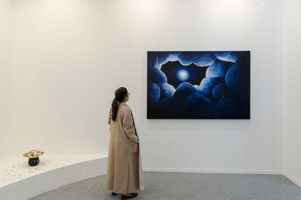 Sabrina Amrani at India Art Fair 2018, installation view