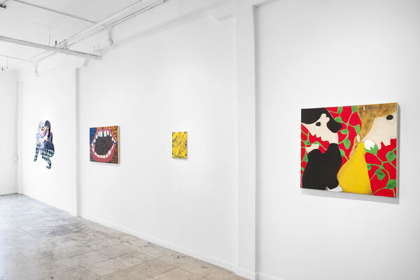 Being Human is Hard, installation view
