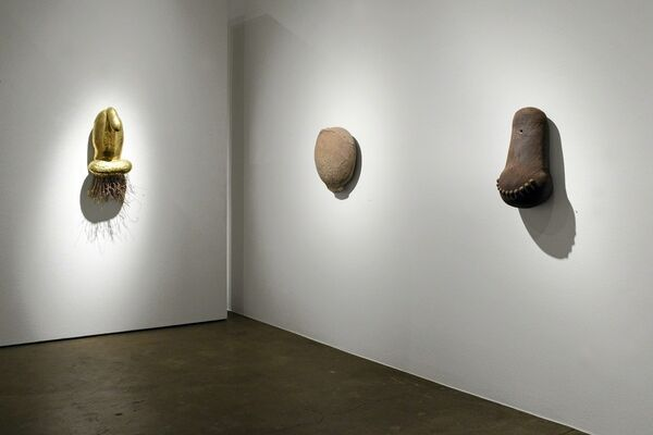Scott Chamberlin: Heads, installation view