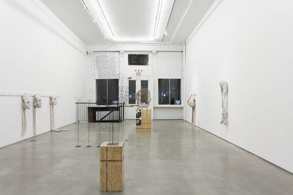"James Crosby - ""Making It (James Crosby presents Garrett Morgan)"", installation view"