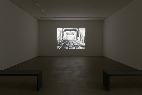 Richard Serra. Films and Videotapes, installation view