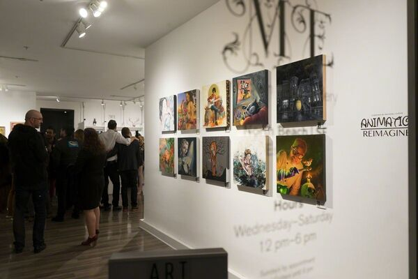 Animation Reimagined, installation view