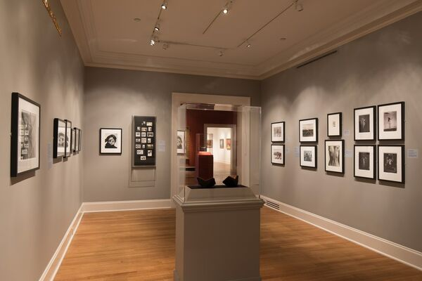 Something in the Way: A Brief History of Photography and Obstruction, installation view