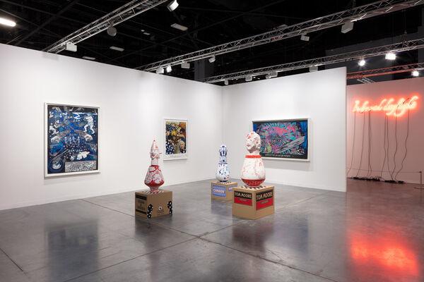 Sies + Höke at Art Basel in Miami Beach 2019, installation view