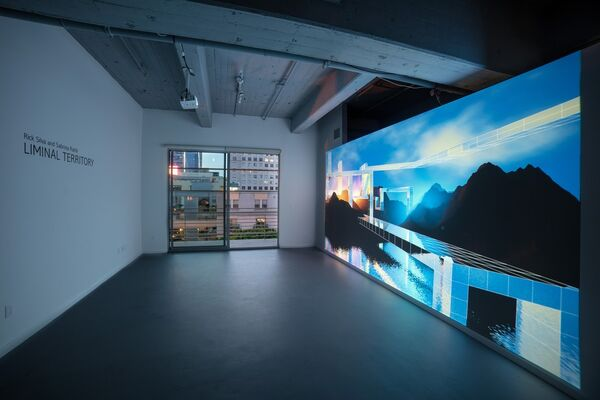 Liminal Territory, installation view