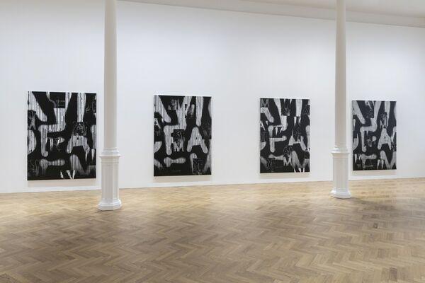Adam Pendleton: Our Ideas, installation view