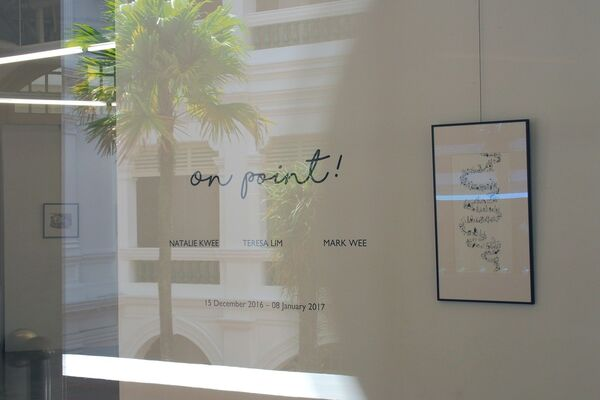 On Point!, installation view