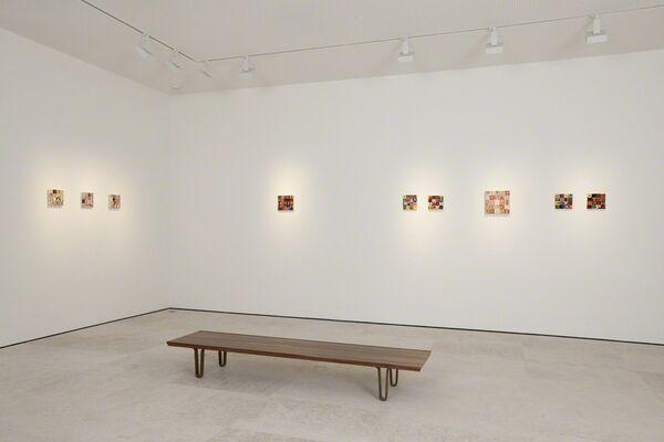 Alighiero Boetti, installation view