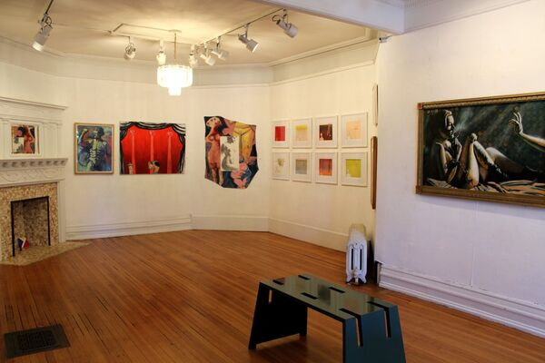 Over the Fence, installation view