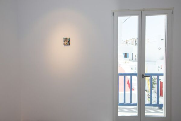 Today - Residency Solo Show, installation view