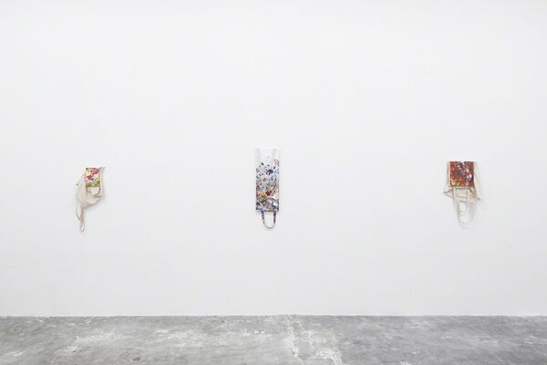 Paul Branca: Totes, installation view