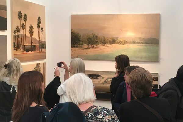 Lustre Contemporary at Affordable Art Fair Hampstead 2018, installation view