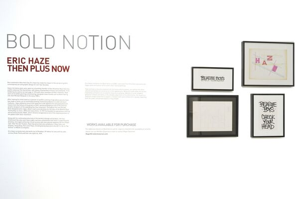 Then + Now, installation view