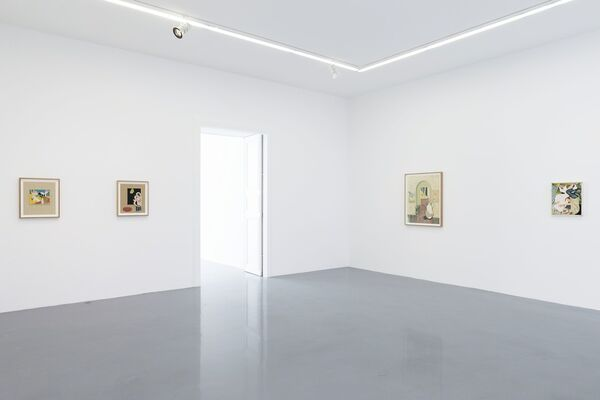 Jens Fänge - The Hours Before, installation view
