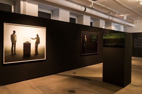 The Taste of Cherry, installation view