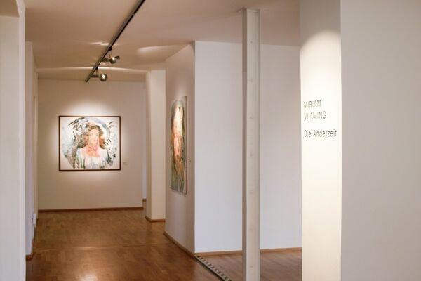 Die Anderzeit, installation view