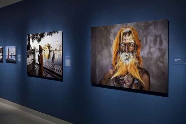 Steve McCurry: India, installation view