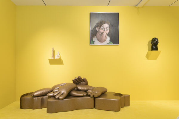 Comfort: Curated by Omar Sosa, installation view