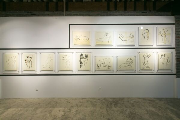 Cathalijn Wouters solo exhibition: Gravity & Grace, installation view