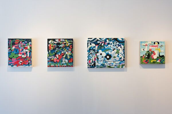 Jeffrey Harrison: All My Buttered Bagels, installation view