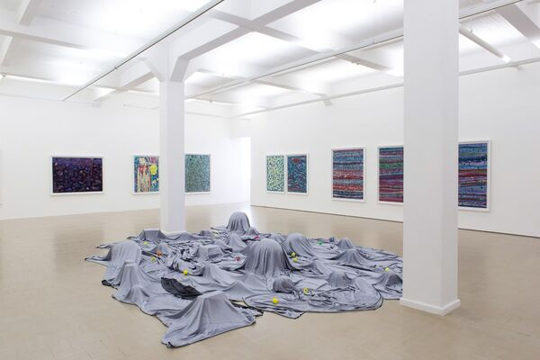 Ellipses, installation view
