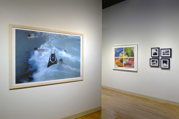 Sometime Where, installation view