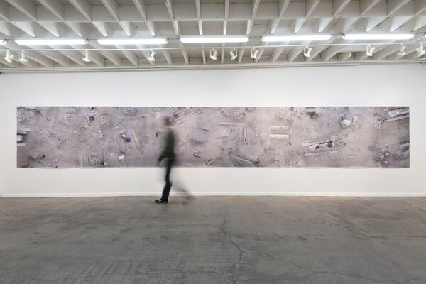 Back Stages, installation view
