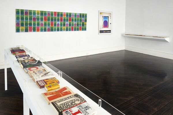 Luis Molina-Pantin: Works on Paper, installation view