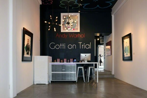 Gotti on Trial, installation view