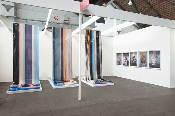 Shoshana Wayne Gallery at Art Brussels 2016, installation view