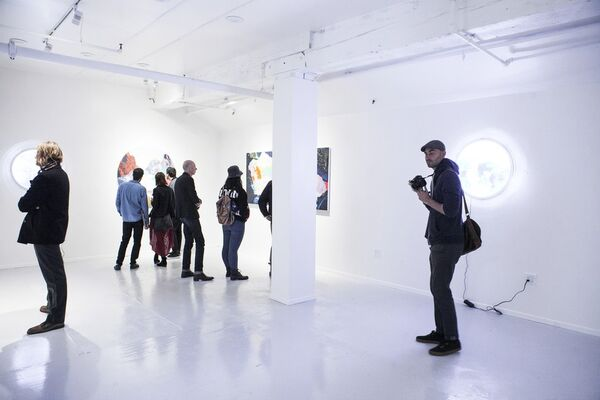Kate Shaw: Radiant Orb, installation view