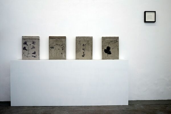 TINKEBELL. - The Worst Is Yet To Come: relics from a distant past (clock doesn't say 3:46 pm), installation view