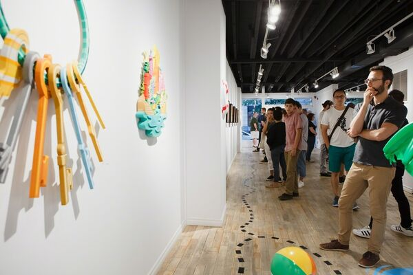 XRAY's : LOST PARADISE, installation view