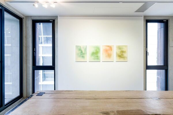 Clouds and Mist Ink and Wash Paintings by Su Chung-ming 落紙雲煙 ─ 蘇崇銘水墨個展, installation view