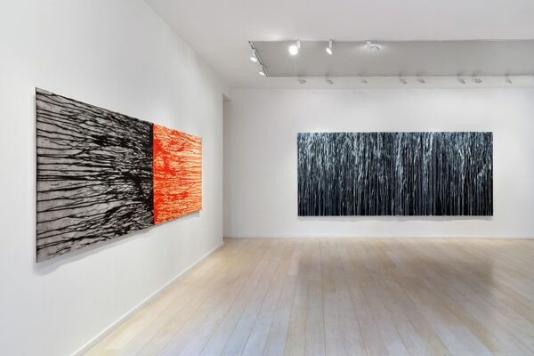 Richard Long: The Spike Island Tapes, installation view