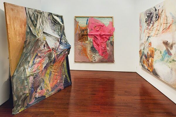 Lauren Luloff - From the Sheets, installation view