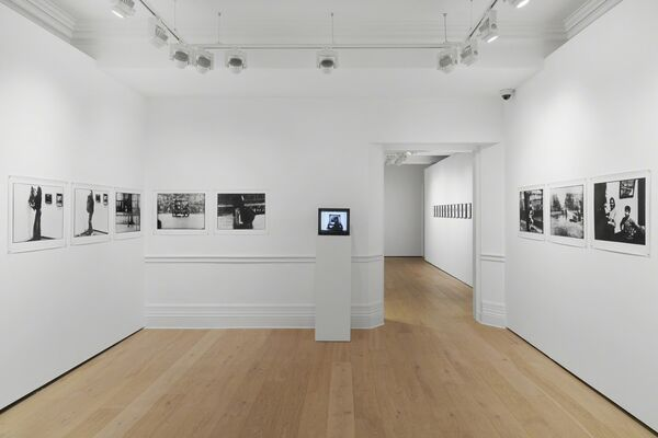 ULAY, installation view