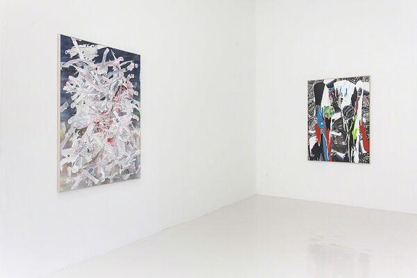 """Joe Reihsen """"About Face"""", installation view"""