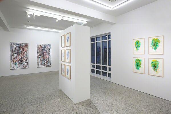 Björn Roth: Nervettis 2009-2018, installation view
