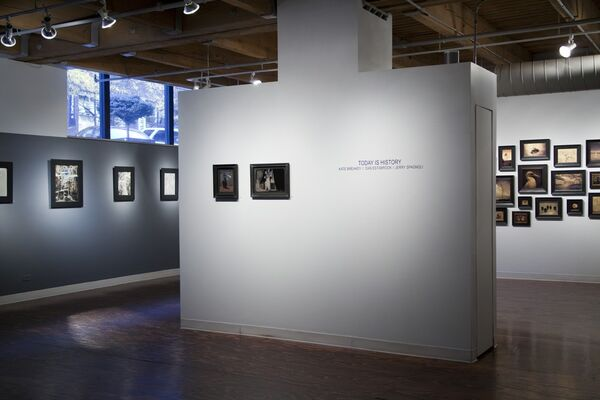 Today is History - Dan Estabrook, installation view