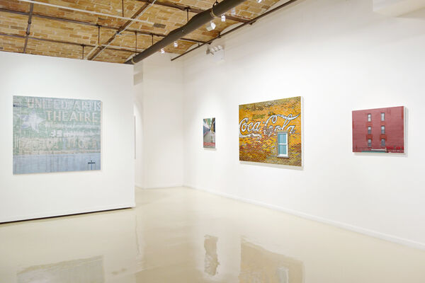 Richard Combes: Walls, installation view