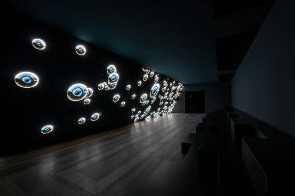 """Solo exhibition """"Chambers of Radiance"""" by Emilija Škarnulytė, installation view"""