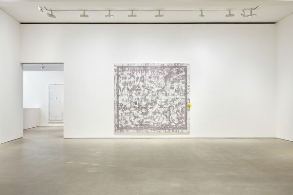 Jacqueline Humphries, installation view