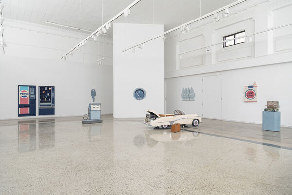 Paved Paradise, installation view