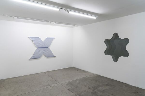 Philippe Decrauzat: Circulation (São Paulo section), installation view