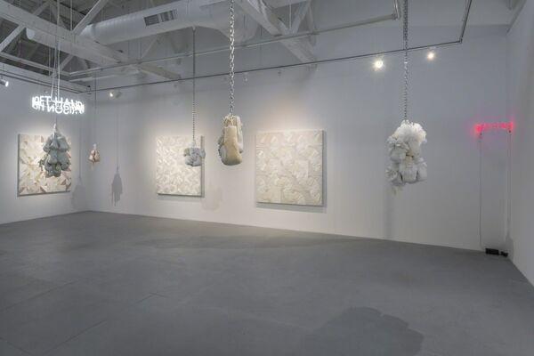 "Zoe Buckman ""Let Her Rave"", installation view"
